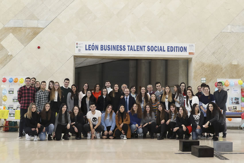 foto de familia de Leon Business Talent Social Edition dic2019